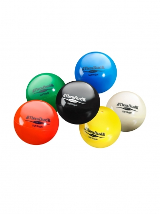 BALL SET THERABAND SOFTWEIGHT