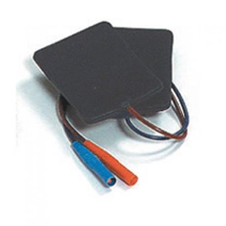 Flexible Platten-Elektrode EF 50 - 8,5 x 6 cm (paarweise)