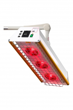 ROTLICHTSTRAHLER TGS 3 Dreier-Deckenmodell